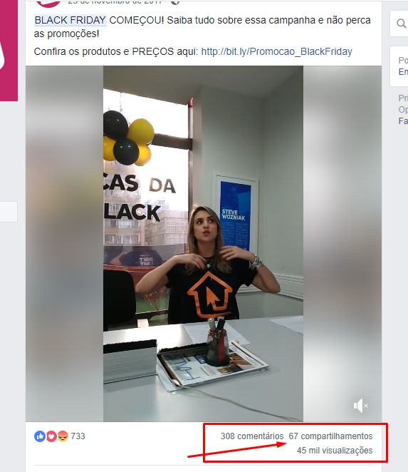 Black Friday - Redes Sociais