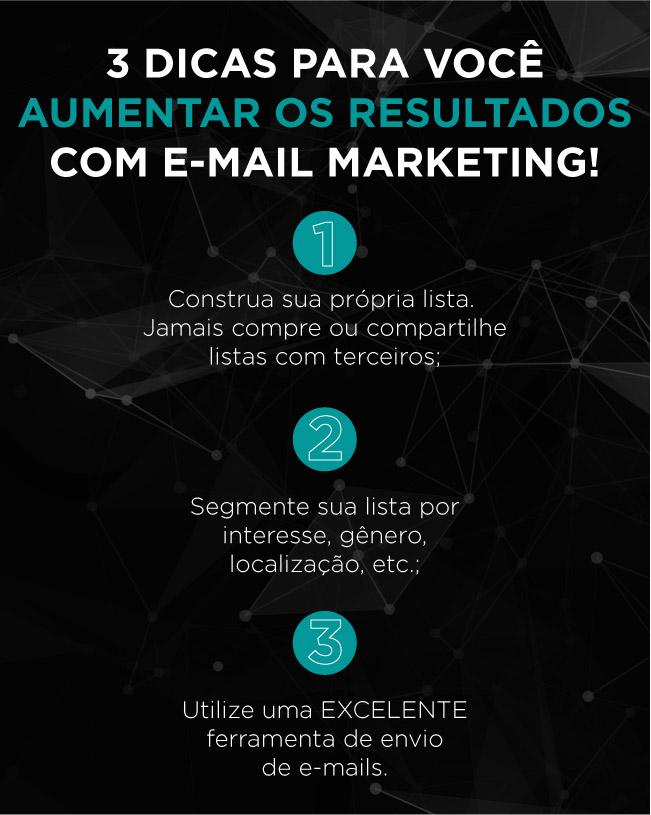 3 dicas para aumentar os resultados com e-mail marketing