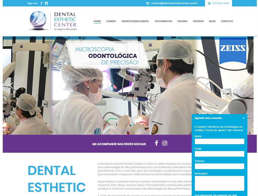Marketing Digital: Dental Esthetic Center