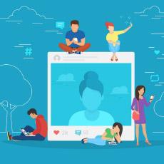redes sociais viraram mídia